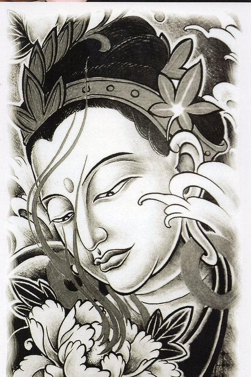 Thai Frau Kopf Canabis, Wellen