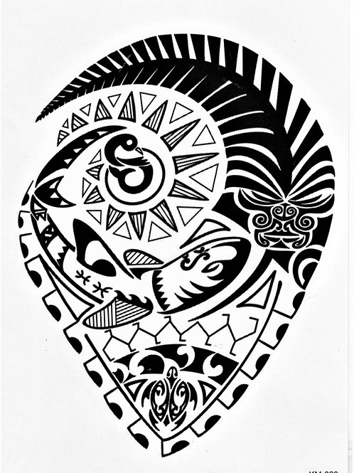 Maori dreick rund