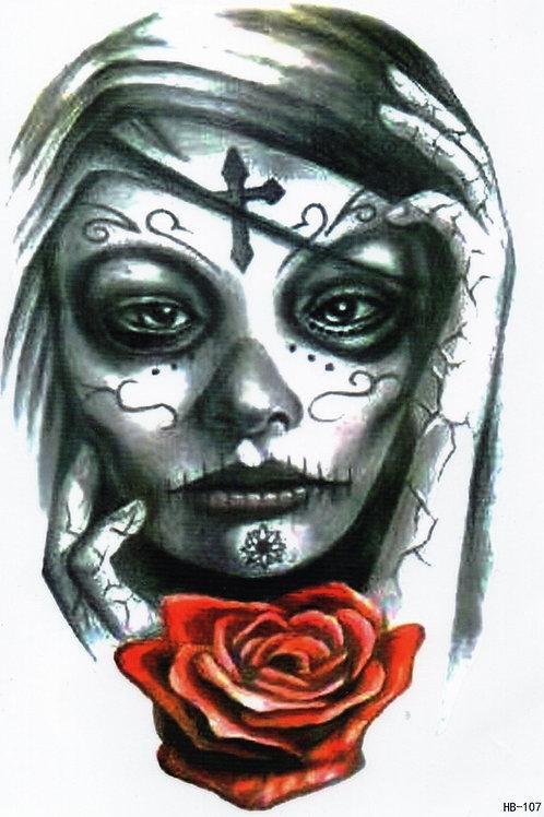 El Dia de los muertos mexikanische Frau