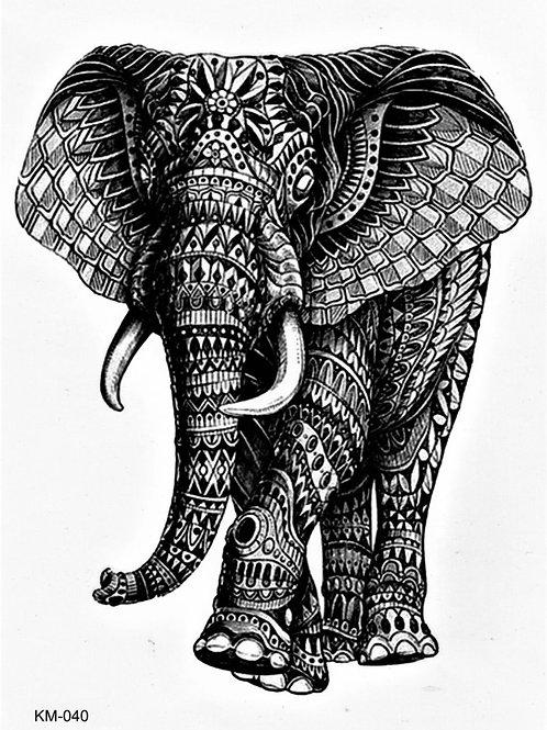 Elefant Mosaik Body