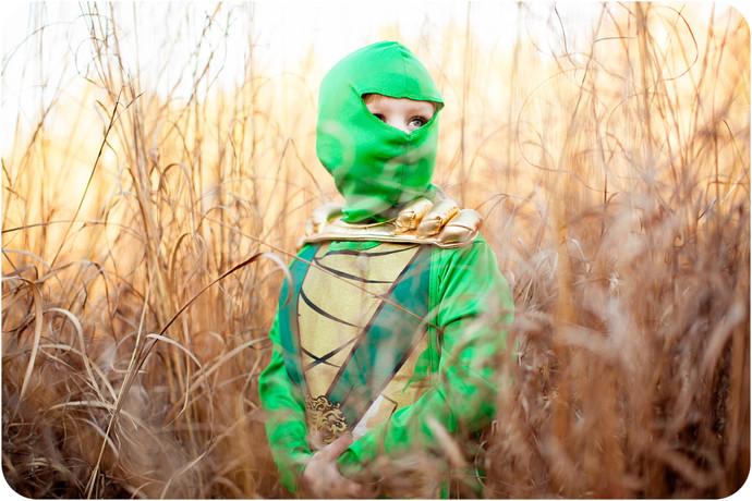 Halloweenukkah Day 3: Green Ninja