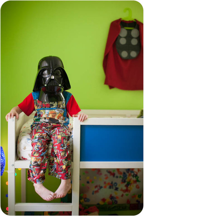 Halloweenukkah Day 2: Darth Vader