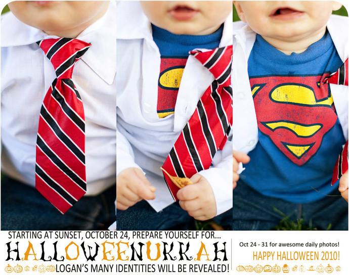 Halloweenukkah Day 8: Superman