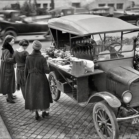 Food truck Chicago 1936