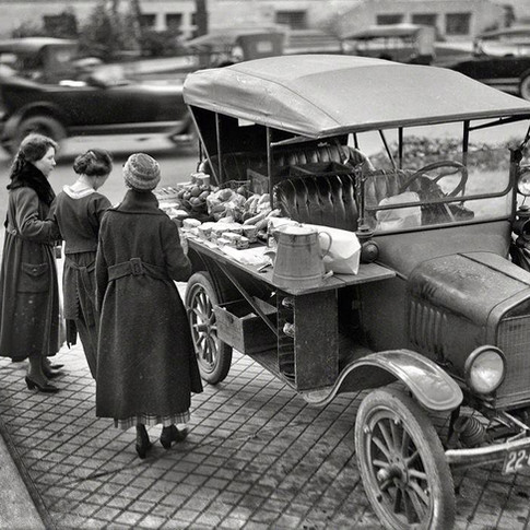 Food truck Chicago 1936