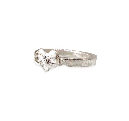 Loved Forever, Infinity & Heart Ring