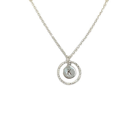 Personalised Eternity Silver Necklace