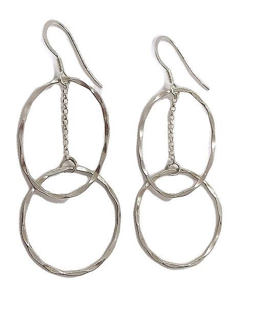 Infinity Statement Earrings