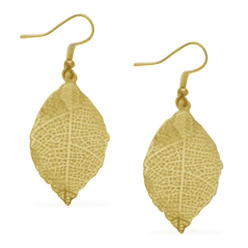 Lace Leaf Earrings