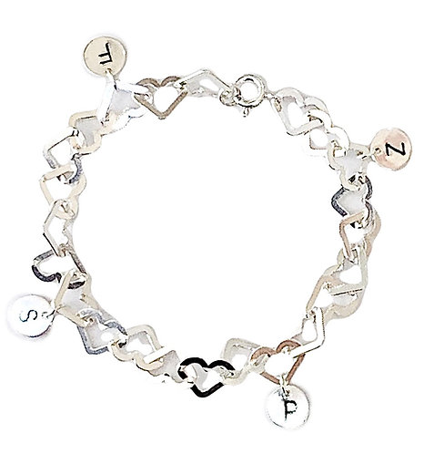Forever Love Engrev Personalised Bracelet