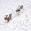Thumbnail: Hammered Silver Earrings