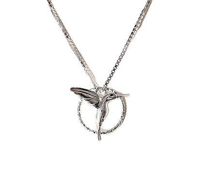 Circle Of Life Hummingbird Necklace