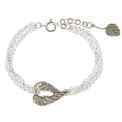 Leaf Forever Multi-Chain Bracelet