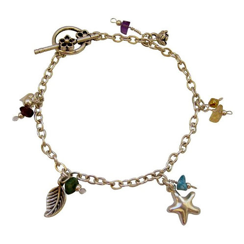 Gems Charms Bracelet