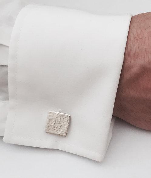 Textured Square Cufflinks