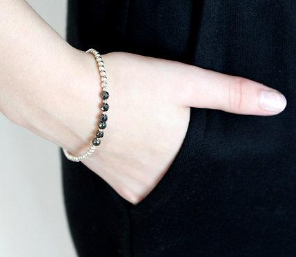Hematite Friendship Bracelet