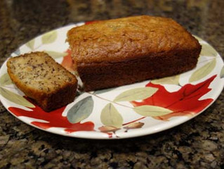 Back by Popular Demand! Jamie's Fantastic All-Natural Banana Bread Recipe