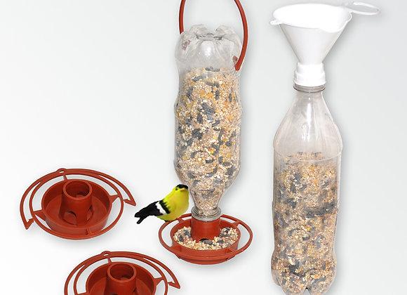 Soda Bottle Bird Feeding Combo (poly bagged)