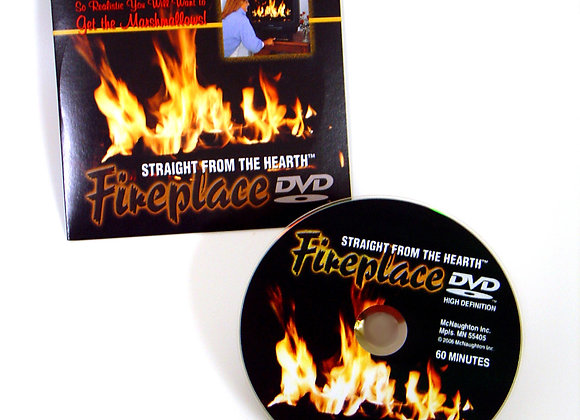 Holiday Fireplace Video DVD
