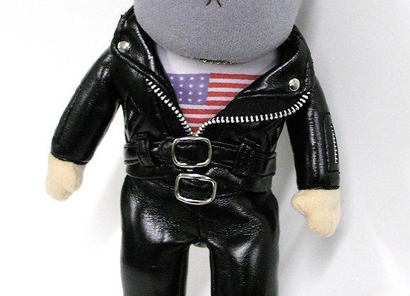 Gadjit Biker Guy Doll 13""