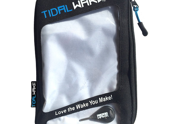 Tidal Wake Fin Wallet & Key Stores, Organizes & Protects Surf Board Fin Sets