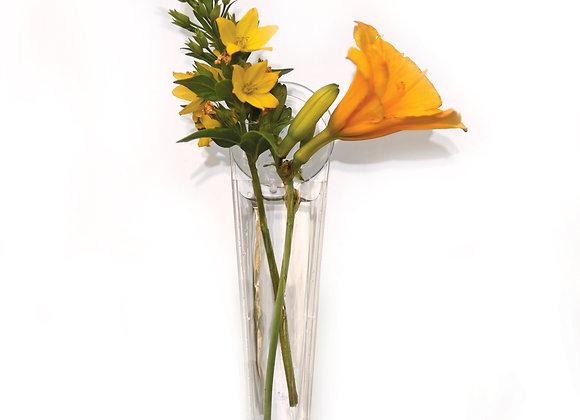 Gadjit Window Vase Mini Single Style, 2 Pack