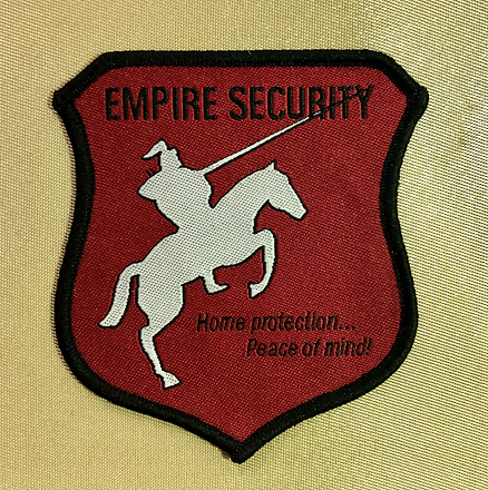 Woven patch shield