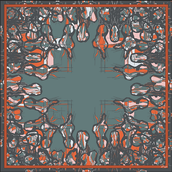 (Only 1 left) Rendezvous with Cuba Collection - No.  SCARF19
