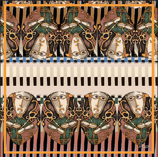 Rendezvous with Cuba Collection - No.  SCARF8
