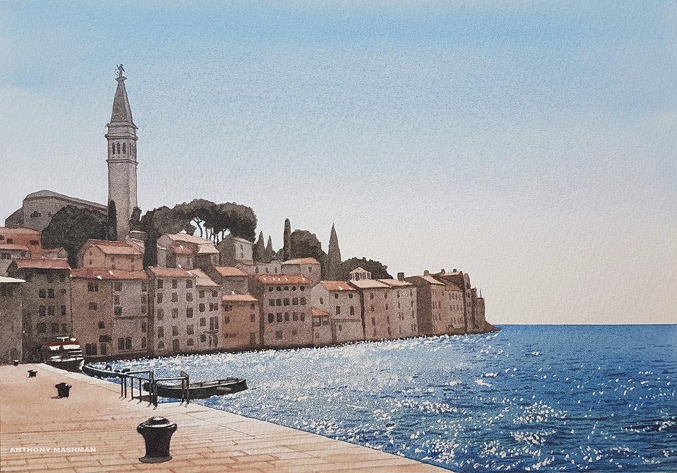 Porec Old Town, Croatia_
