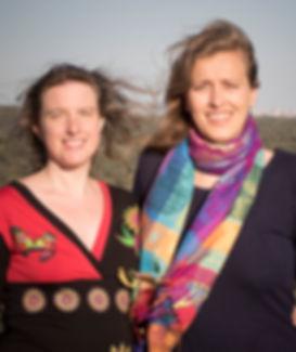 Esther Gutiérrez y Jenny Mcilwain, Centro Aletheia, Madrid