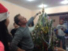 Украшаем новогоднюю ёлку