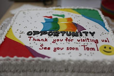 Tom's Farewell Party