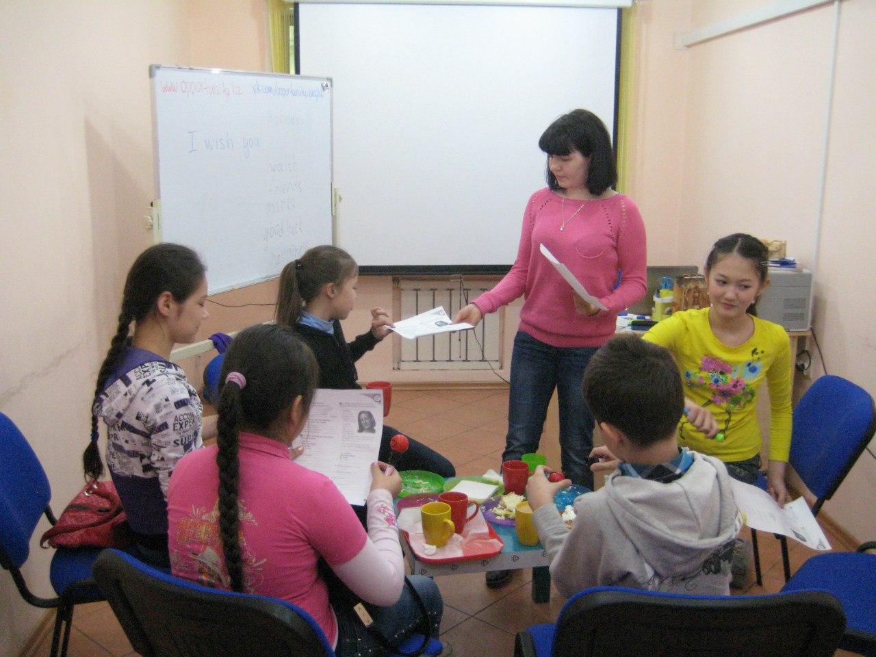 1 июня в языковой школе Opportunity