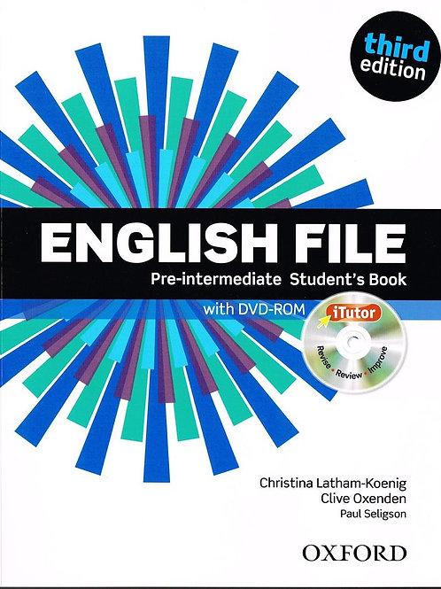 New English File Pre-Intermediate (third edition)