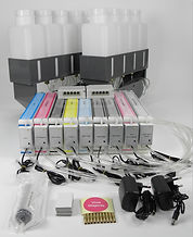 Bulk Ink System, CISS, Continuous Ink Supply System for EPSON 11880, 9700, 7700 Printer
