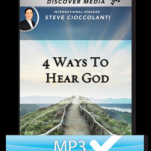 4 Ways To Hear God