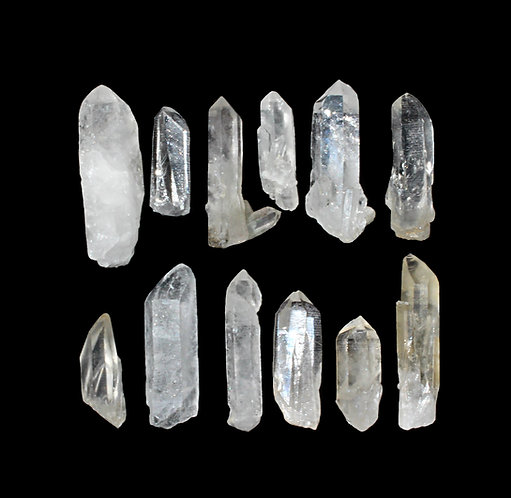 Natural Quartz Crystal Points