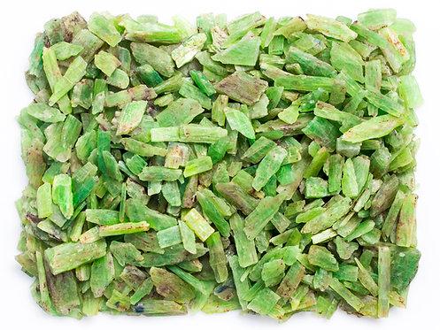 FLAT GREEN KYANITE 1 KILO