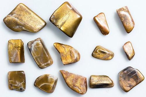 TUMBLED GOLD SHEEN FELDSPAR