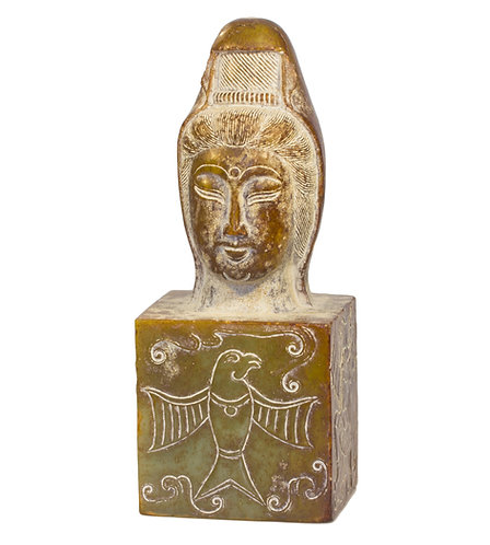 ANCIENT STYLE CARVING - 1440.28 GRAMS