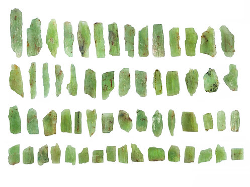 FLAT GREEN KYANITE 100 GMS.