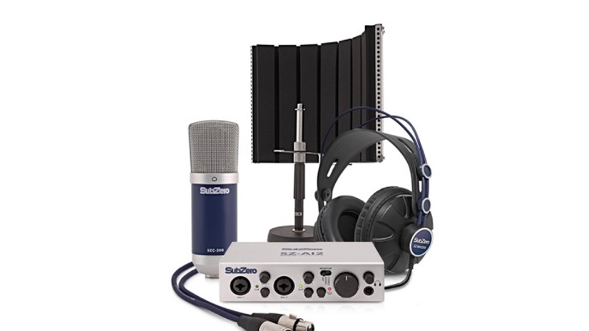Sub Zero base 2 Podcast Recording Bundle