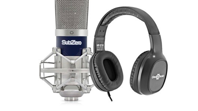 Subzero SCZ-400 Mic and Headphone Pack