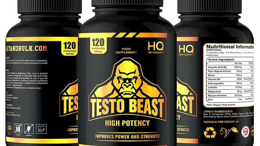 Testo Beast - By Beast and Bulk Nutrition
