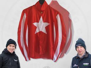 Giveaway! Win a Millennium Racing Club silk signed by Fergal O'Brien and Paddy Brennan.