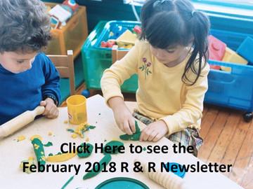 February 2018 Resource & Referral Newsletter