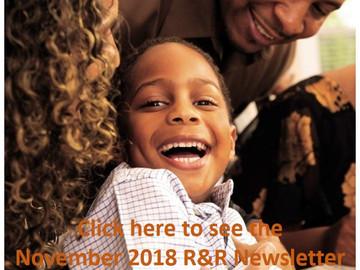 November 2018 Resource & Referral Newsletter