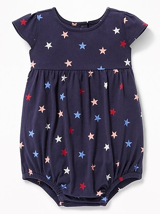 Old Navy | Printed Jersey bubble one-piece