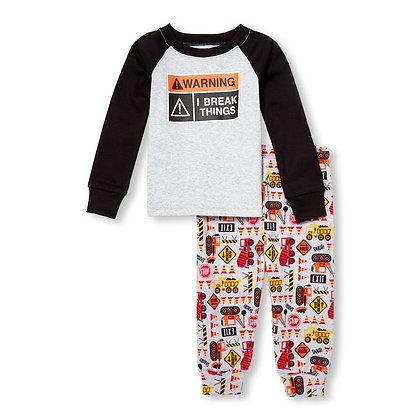 Children's Place | Warning snug fit pajamas